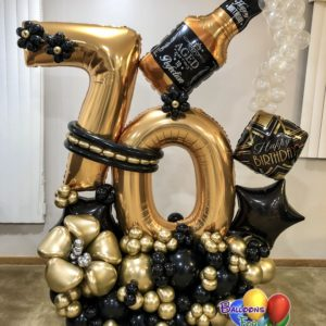 Balloon Bouquets Aged to Perfection