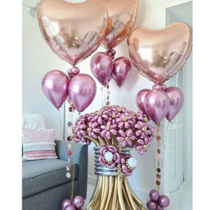 Amazing Flowers Balloon Bouquet