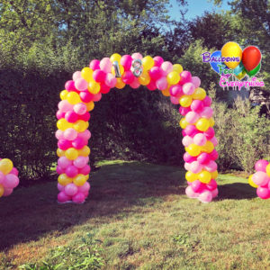 Balloon Decorations, Yard Balloon Decor, Topiaries