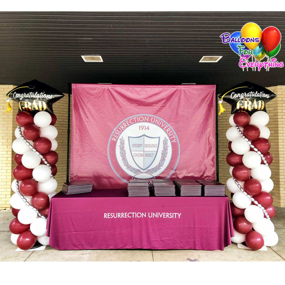 University Balloon Decor