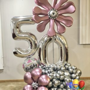 Flower Fantasy Balloon Bouquet