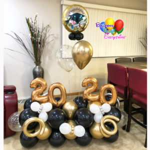 Cute Grad Balloon Bouquet