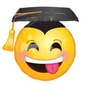 26in Emoji Grad Balloon