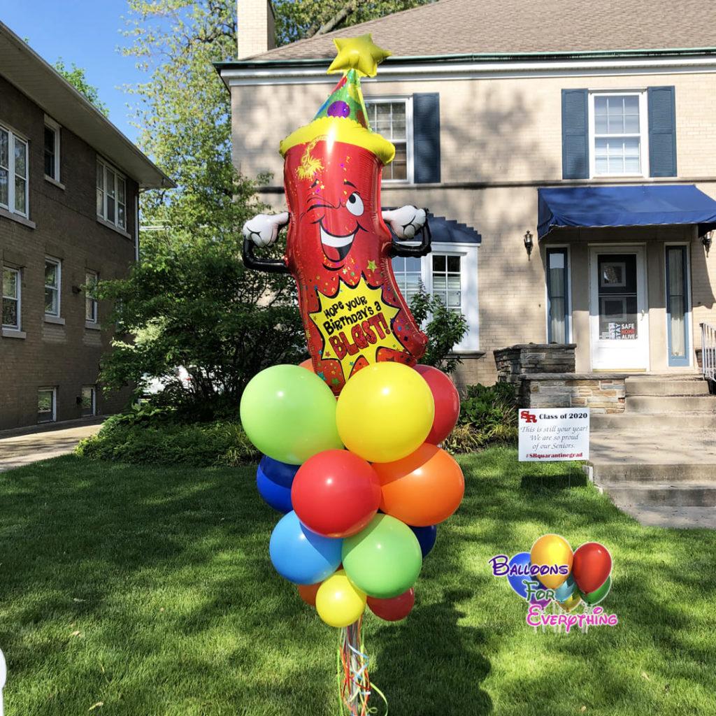 Themes with Jumbo Balloon Stick
