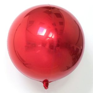 16in Red Orbz Balloon