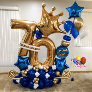 Royal Celebration Balloon Bouquets