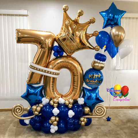 Royal Celebration Balloon Bouquets