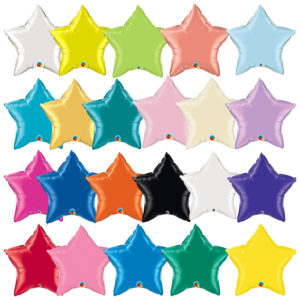 18'in Star Shape Balloon