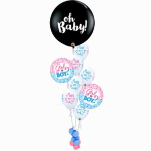 Baby Reveal Popping Balloon