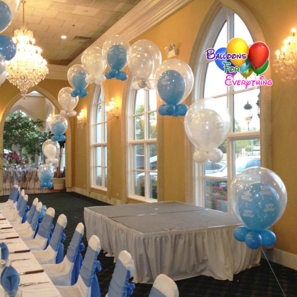 Double Bubble Balloon Arch