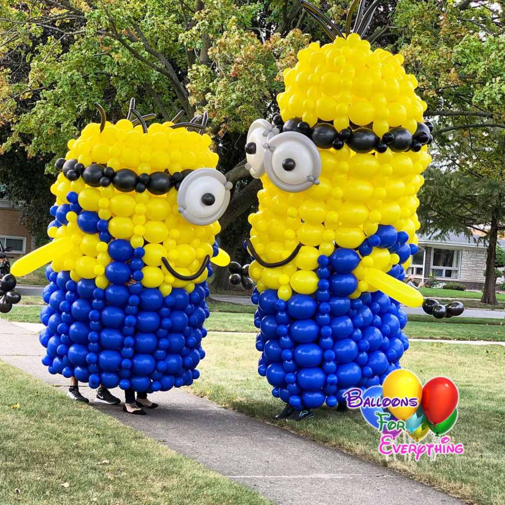 Minions Balloon Costumes