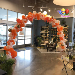 Store Opening Balloon Arch