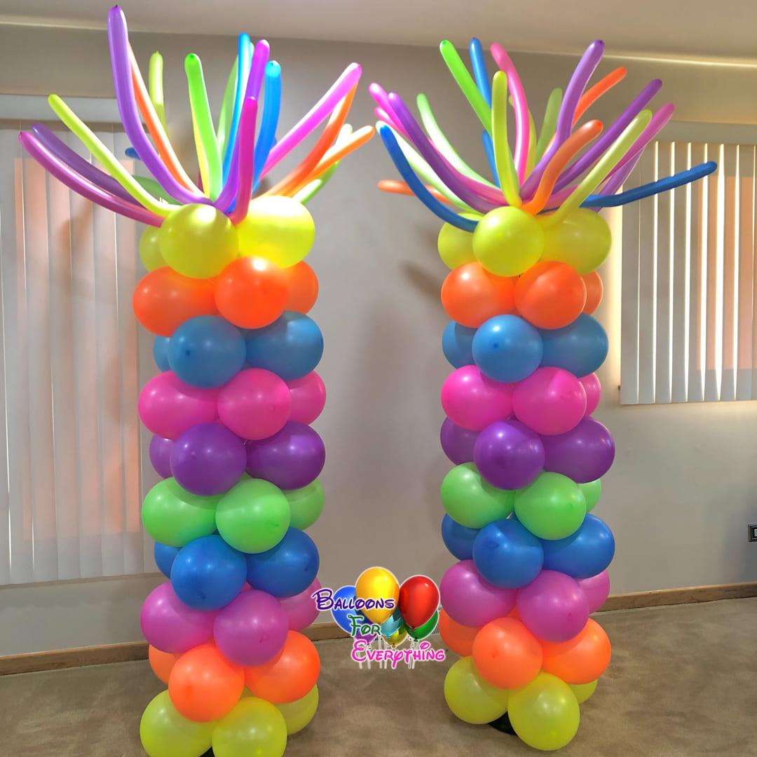 Whit It Balloon Columns