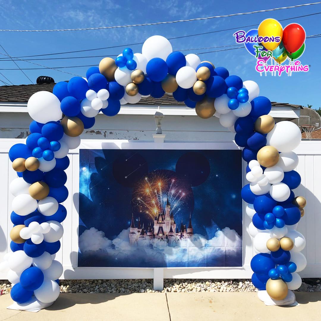 Elegant Organic Balloon Arch
