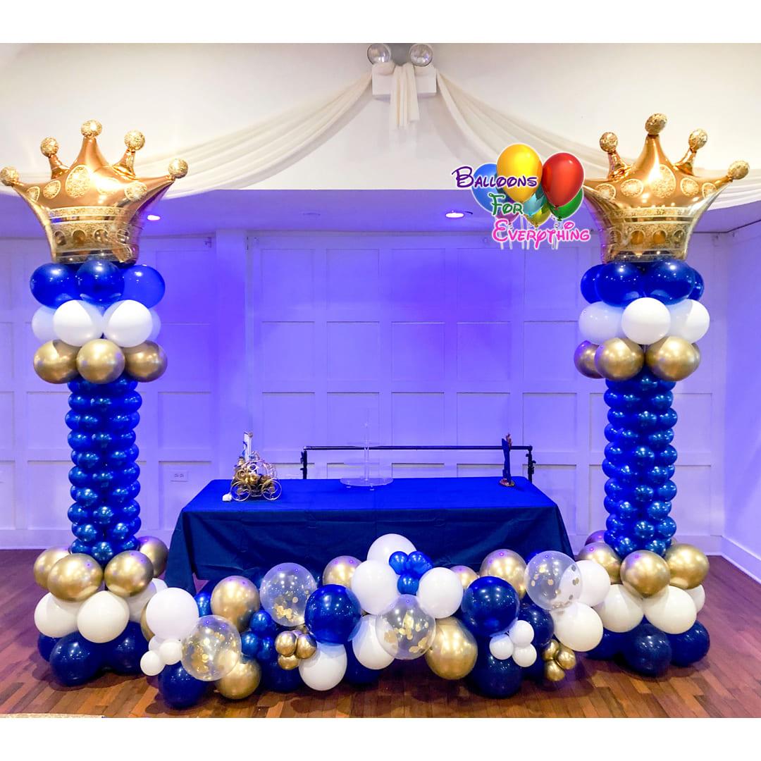 King Balloon Columns