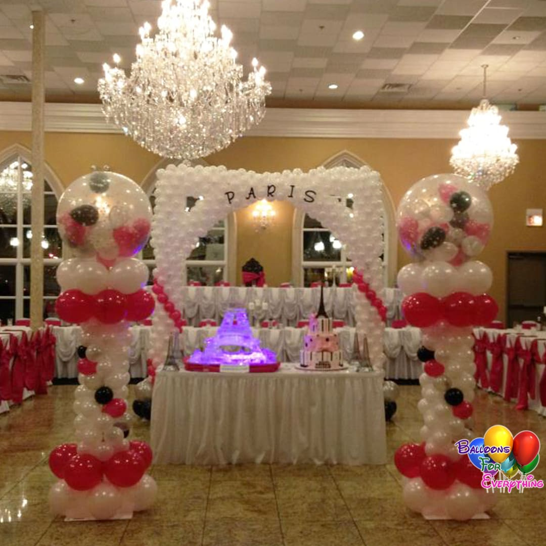 Sweet Sixteen Balloon Decorations