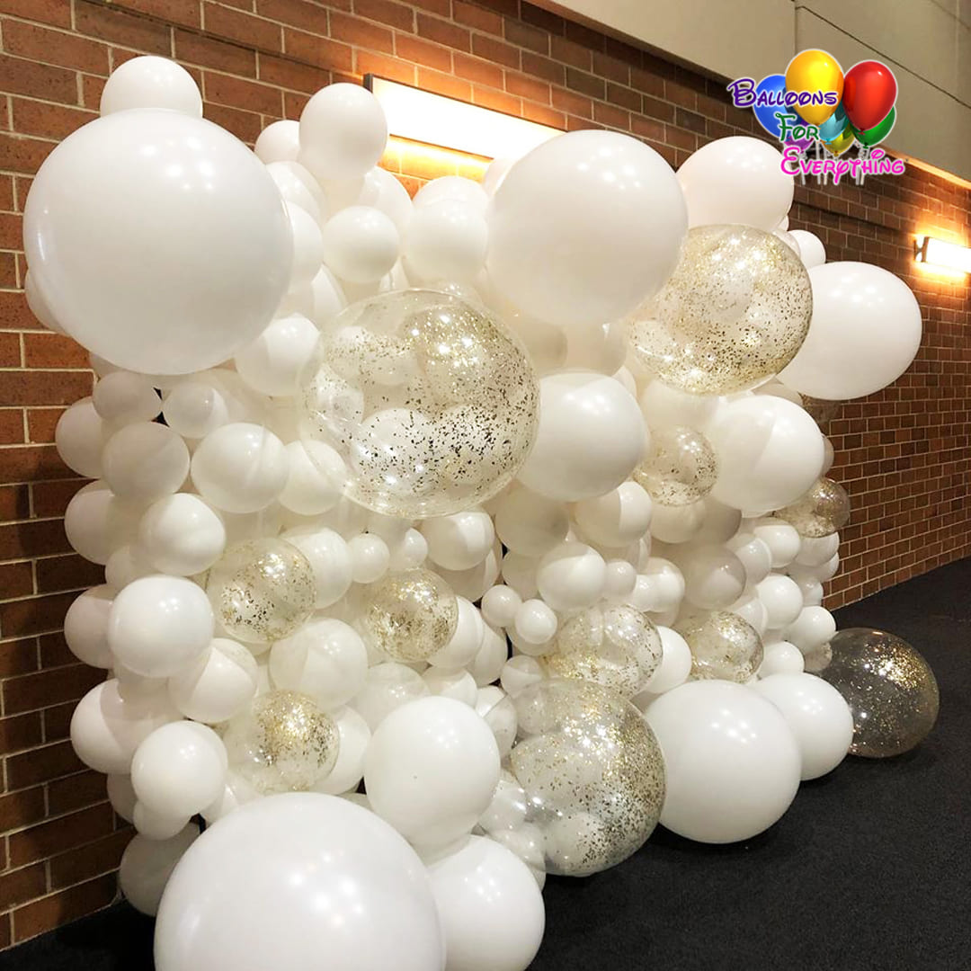 Deluxe Organic Balloon Wall