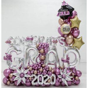Congrats Grad Maxi Balloon Bouquet