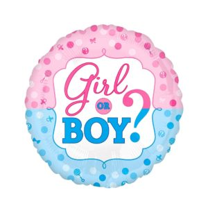 18in Baby Gender Foil Balloon