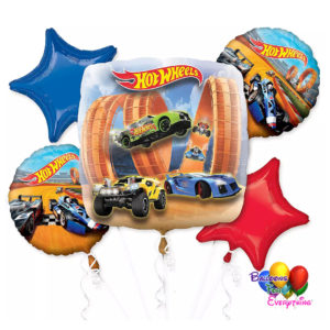 Hot Wheels Balloons Bouquet
