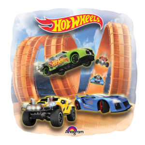 28in Jumbo Hot Wheels Balloon