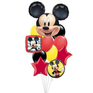 Mickey Portrait Balloon Bouquet