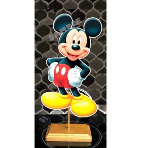 15in Mickey Double Sided Centerpiece