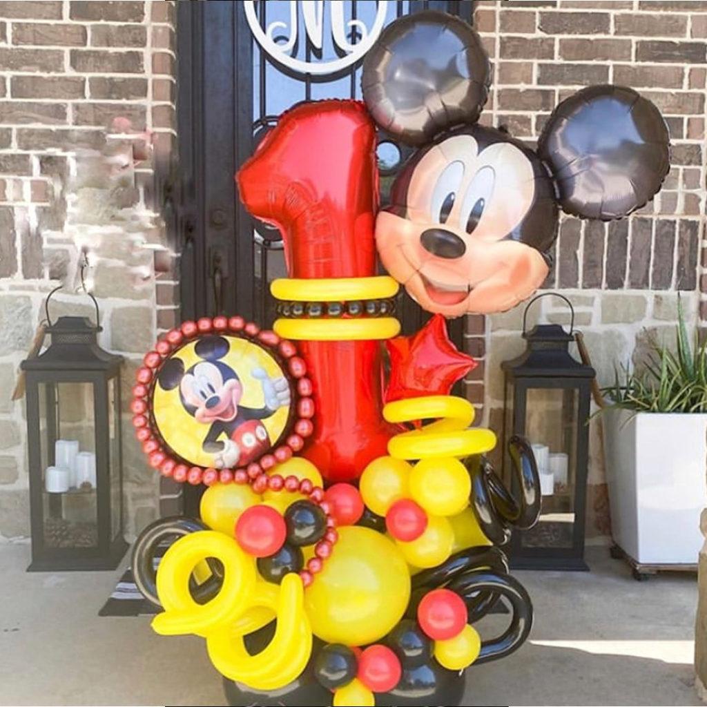 Mickey Mouse Balloon Bouquet