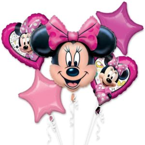 Minnie Bowtique Birthday Balloon Bouquet