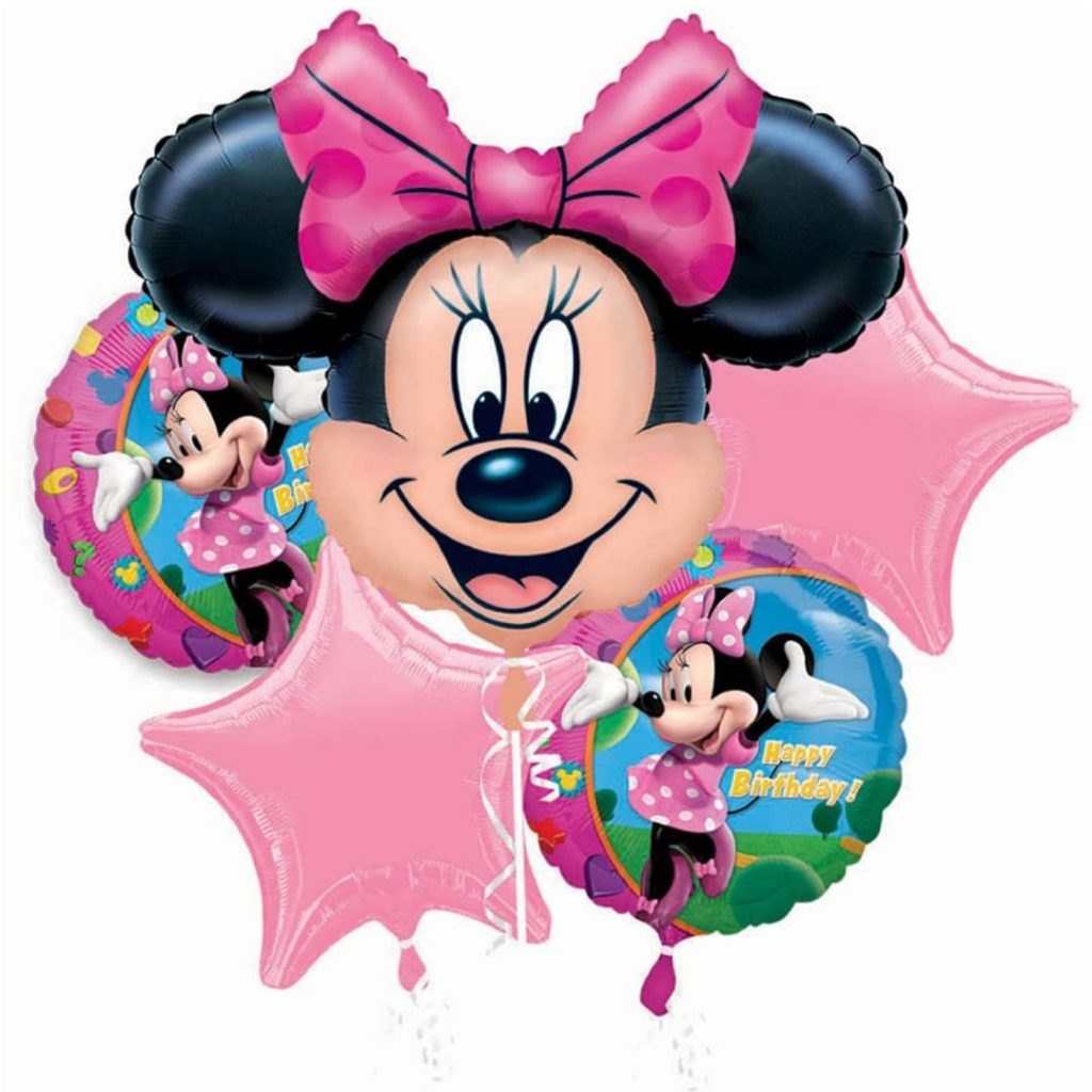 Minnie Balloon Bouquet