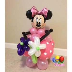 Minnie Balloon Centerpiece