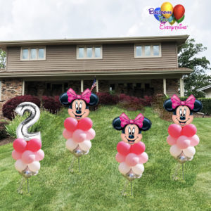 4 Minnie Yard Balloon Sticks