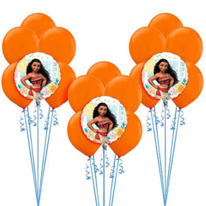 Moana Balloon Bunches