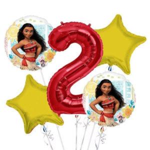 Moana Birthday Balloons