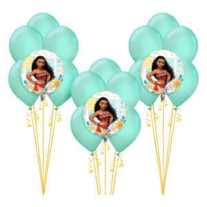 Moana Birthday Balloon Bouquets