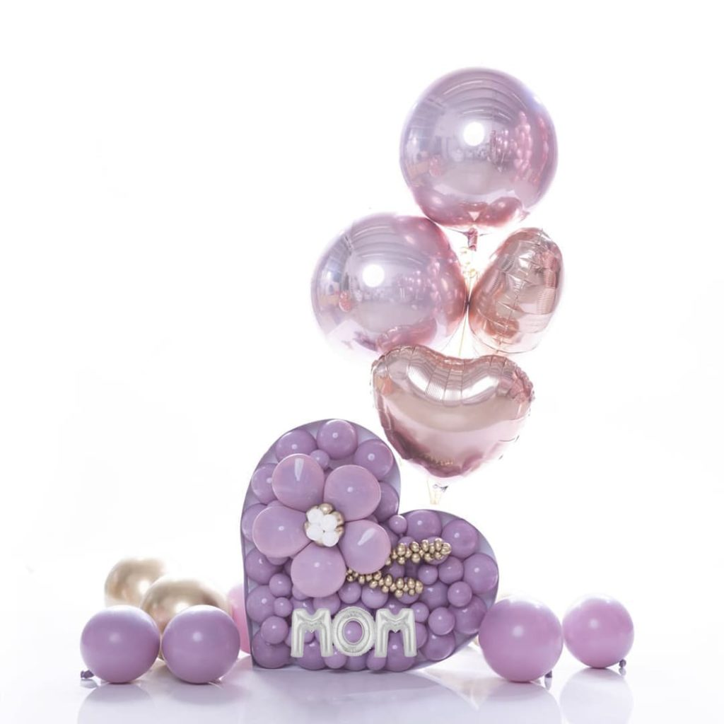 Mom Cutie Heart Bouquet