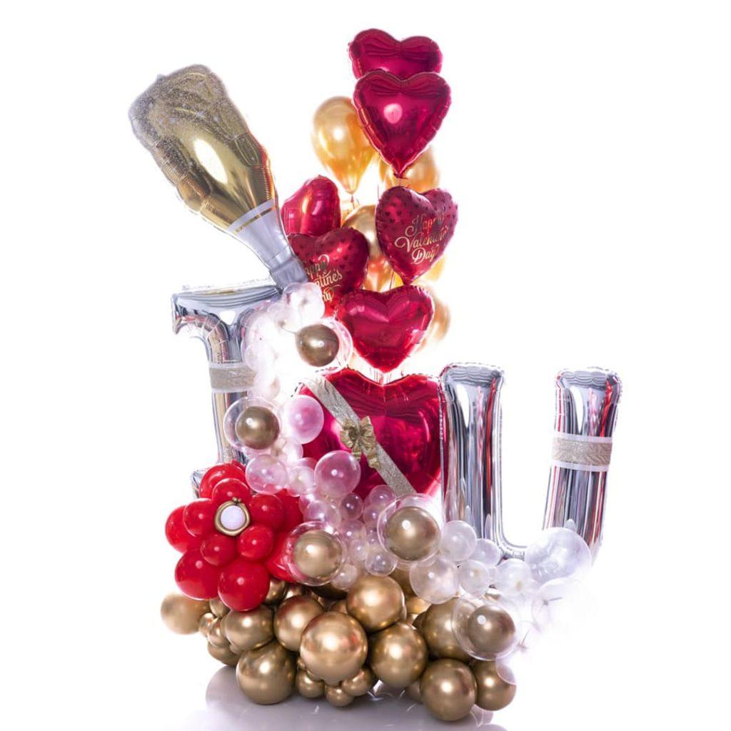 Romance Balloon Bouquet