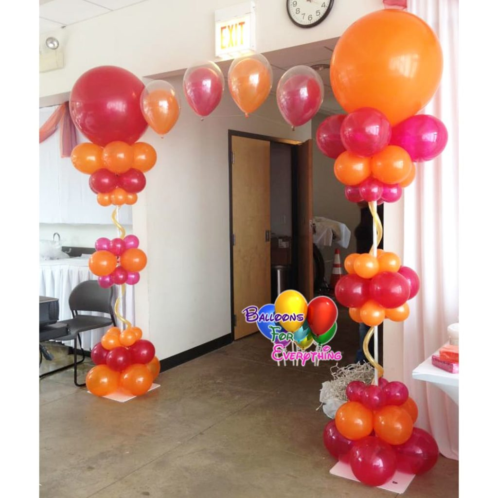 Elegant Bubble Balloon Arch