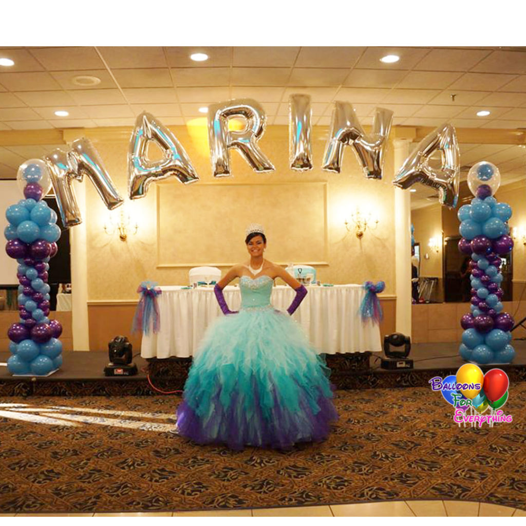 Sweet Sixteen Balloon Decorations