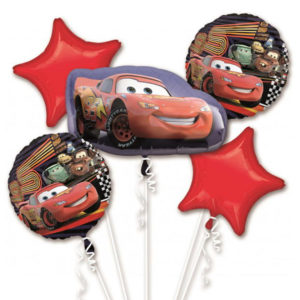 Disney Cars Balloon Birthday Bouquet