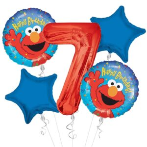 Elmo Happy Birthday Balloons