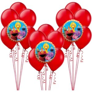 Sesame Street Birthday Balloon Bunches