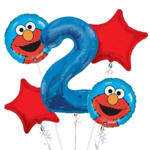 Elmo 2nd Birthday Balloons