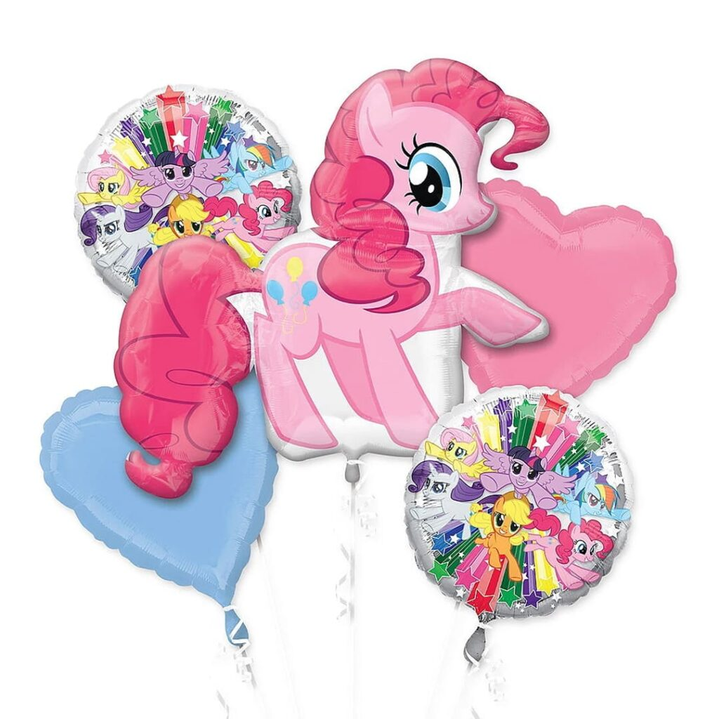 Pinkie Pie Birthday Balloons