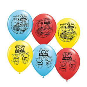 6 – 11in Toy Story Globos Latex