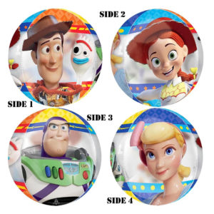 16in Toy Story Gang Orbz Balloon