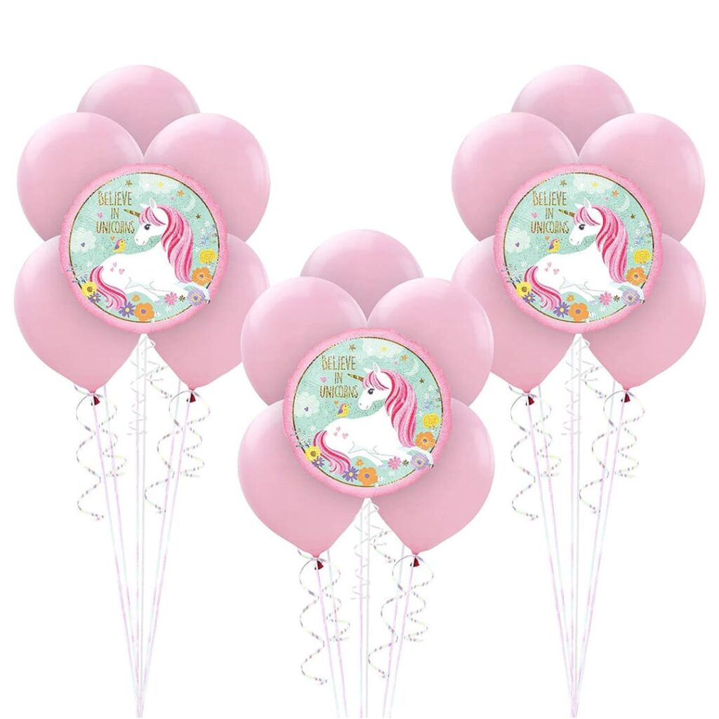 Magical Unicorn Balloon Bunches