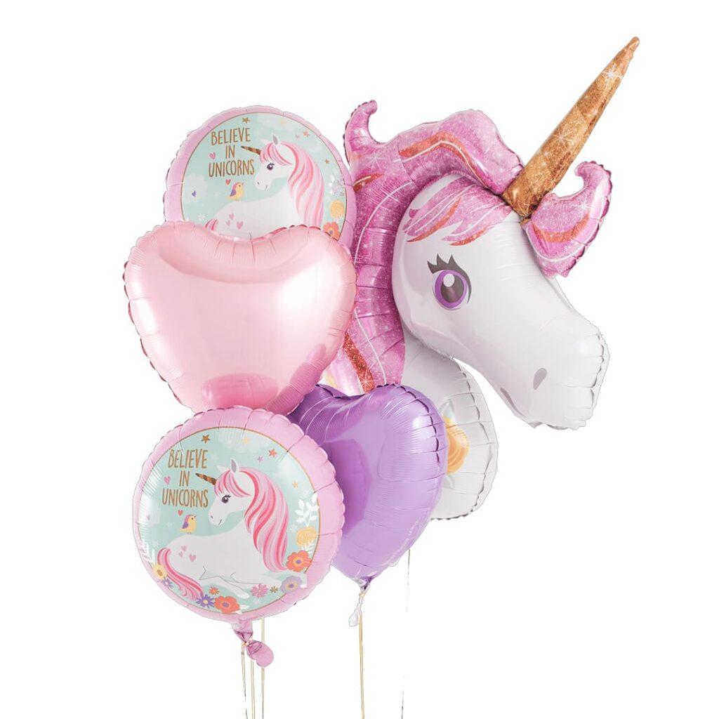 Unicorn Balloon Bouquet