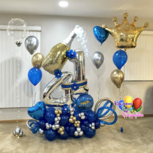 Lights Up Cheers Balloon Bouquet