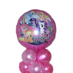 My Little Pony Balloon Centerpiece